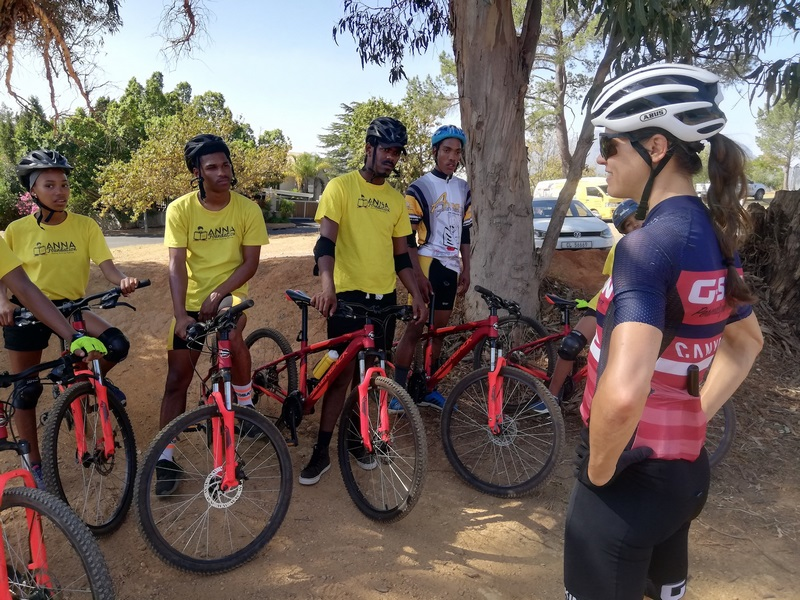 Anna Foundation Learners Upskill With Ariane Lüthi Ahead Of Absa Cape Epic 2020 photo