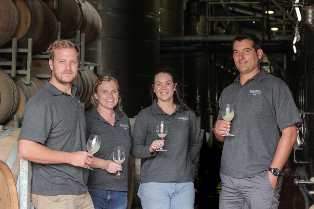 Diemersdal Estate Bottles First Sauvignon Blanc From Harvest 2020 photo