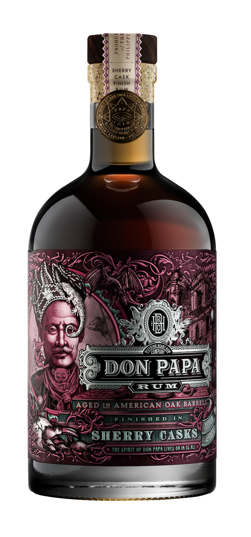 Don Papa Rum Unveils Sherry Casks Finish photo