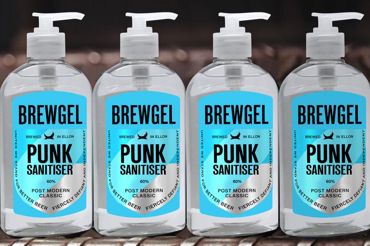 "Brewdog ""punk Sanitiser"" By Uncommon Creative Studio photo"