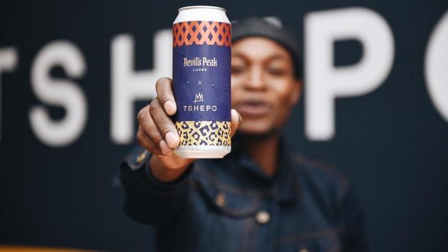 Tshepo Mohlala Collabs With Devils Peak On Limited-edition Beer. And No, A Six-pack Doesn't Cost R800 photo