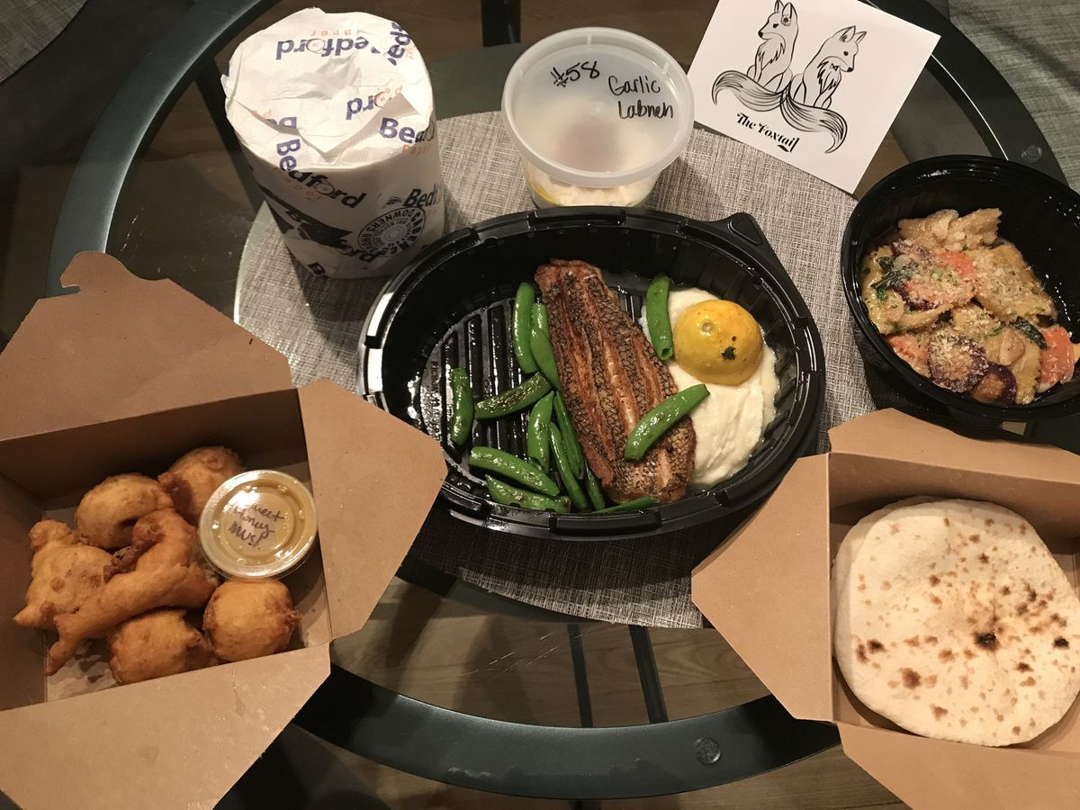 Curbside Critic: The Foxtail Carryout Menu Offers Variety, And A Side Of Tp photo