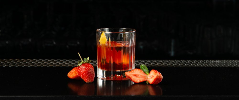 Cocktail Of The Month: Strawberry Chai Negroni photo