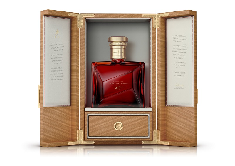 Johnnie Walker Expanded Its Portfolio With Master's Ruby Reserve. photo