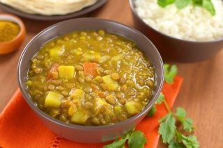 Recipe: Lentil And Potato Curry photo