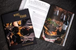 Libertas Vineyards & Estates Releases Food And Wine Pairing Guide photo