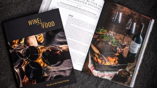 Libertas Vineyards & Estates Launches Food And Wine Pairing Guide photo