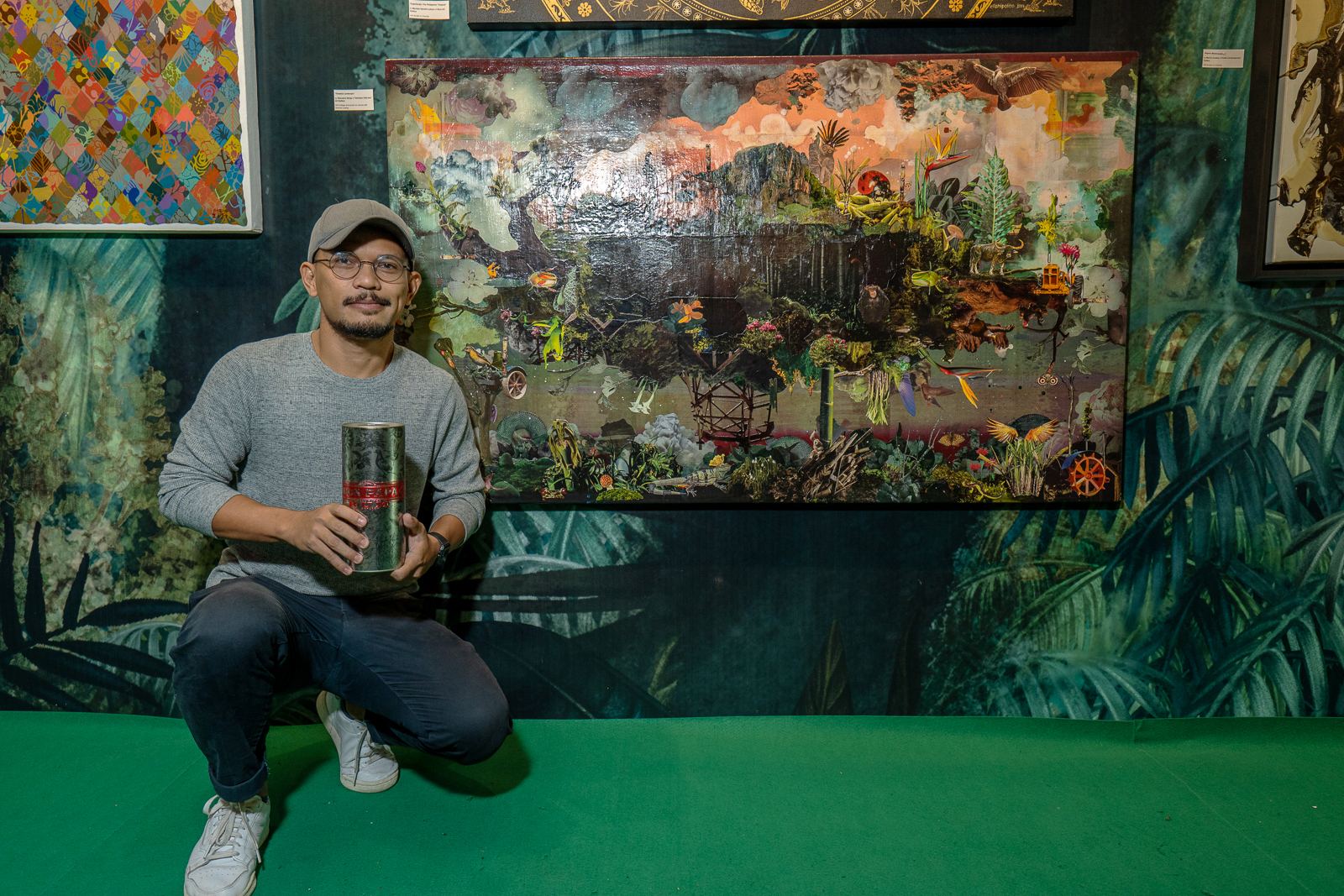 Abing's 'timeless Landscape' Wins Don Papa Art Grand Prize photo