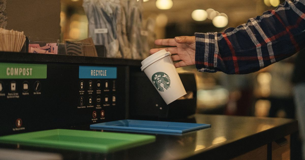 Starbucks Begins In-store Testing Of Greener Cup photo