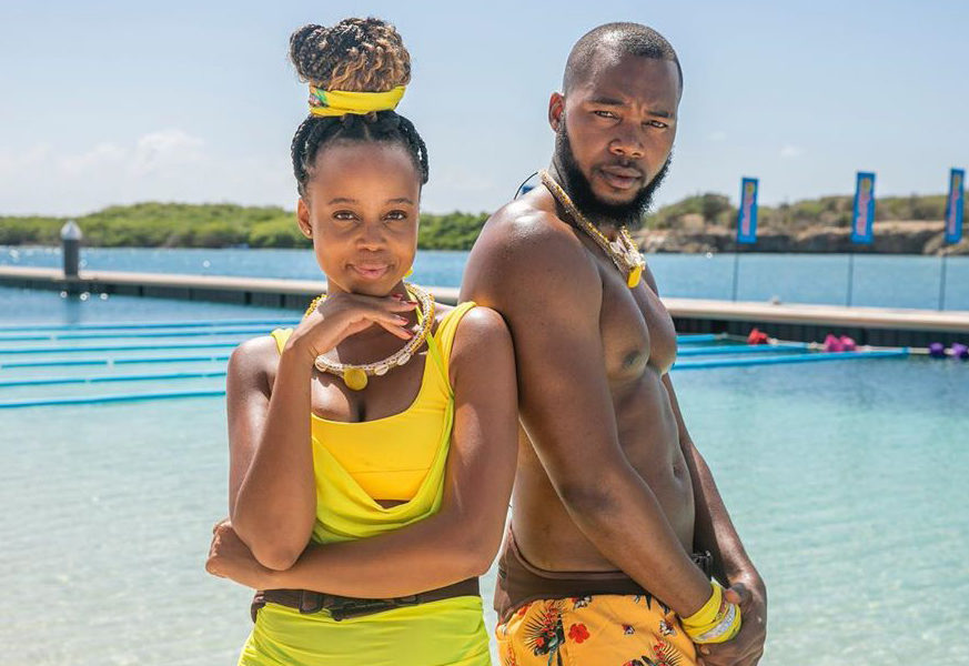 Ntando Duma Denies Romantic Relationship With Tropika Island Of Treasure Teammate, Siphosethu Colo photo
