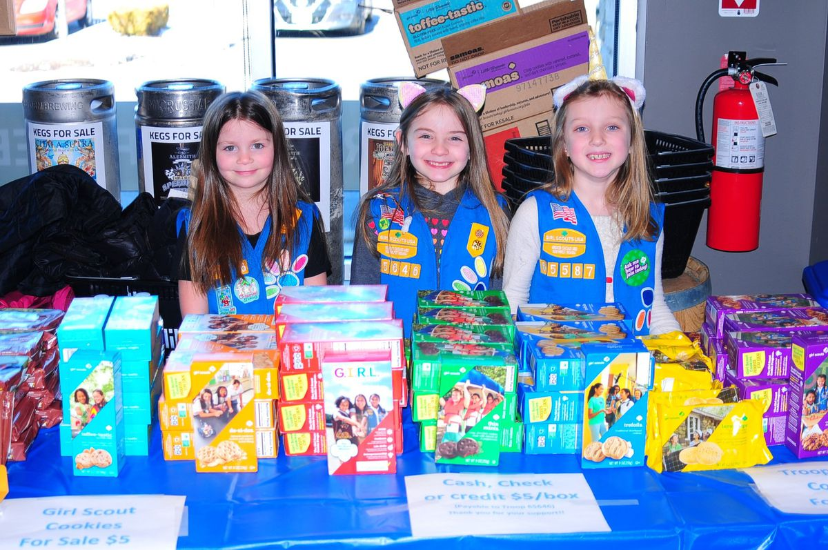 'they're Like Mini-ceos': Girl Scouts Set Up Cookie Shop At Tinley Park Bar For Beer Pairing Event photo