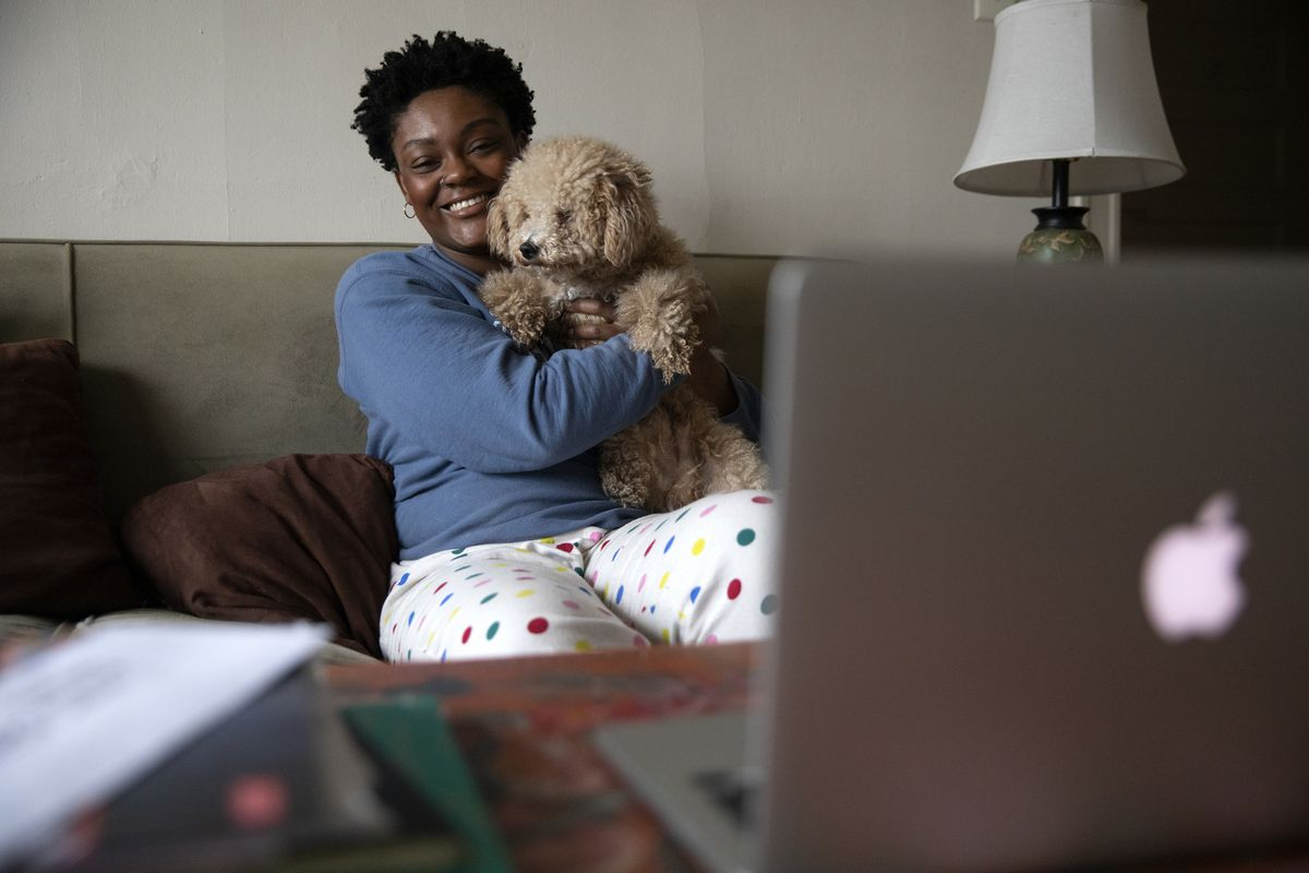Isolated But Not Alone: How Chicagoans Are Living Through The Coronavirus Pandemic Today, From Online Dance Parties To Work-from-home Pics photo