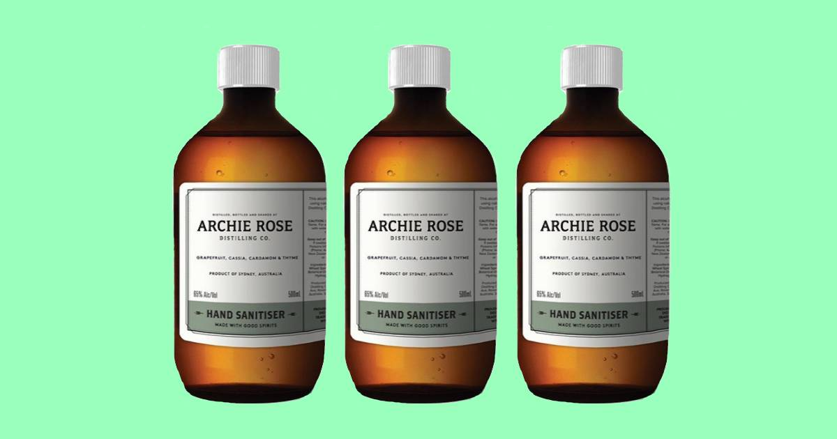Archie Rose Sold 4,500 Bottles Of Its Gin-infused Hand Sanitiser photo