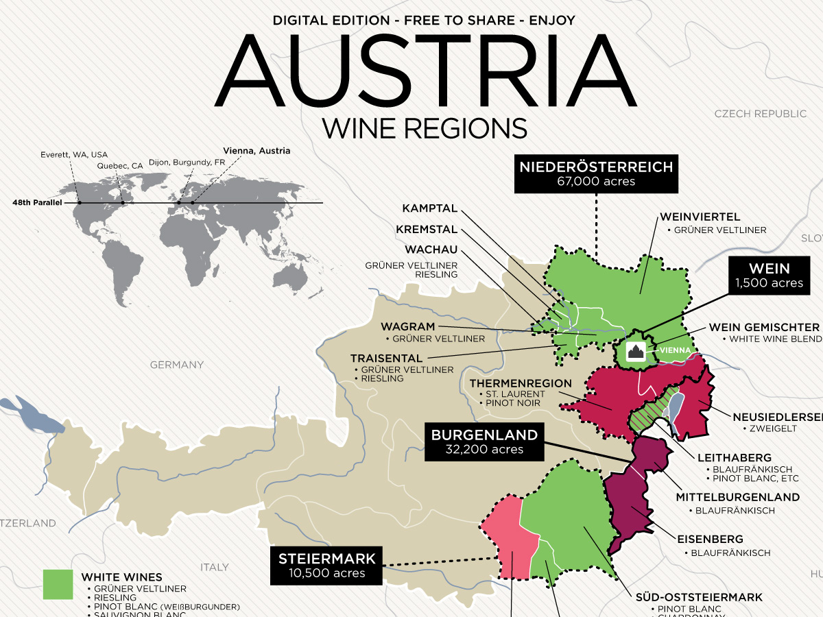 austria wine map excerpt Expert's Predictions: New Trends in Drink Catering in 2020