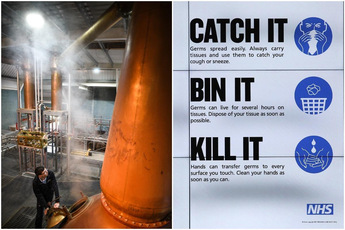 Scottish Whisky Distillery Closes Doors To Visitors As A Precaution During Coronavirus Spread photo