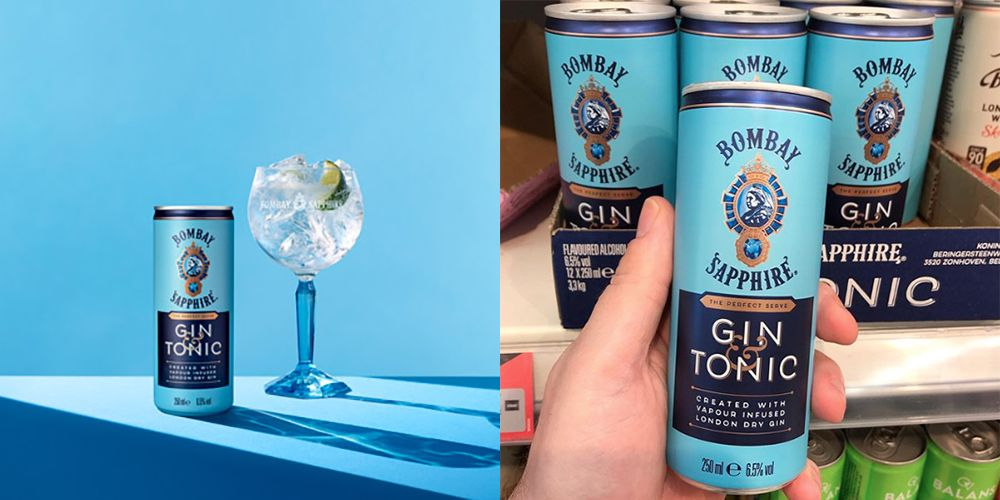 You Can Now Buy Bombay Sapphire Pre-mixed Gin & Tonic Cans photo