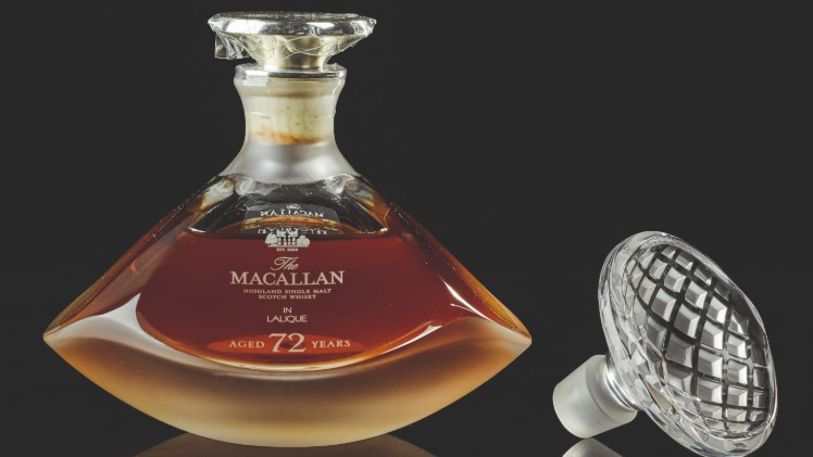 The World's Oidest Macallan Will Headline Sotheby's Rare Spirits And Wine Sale Next Week photo