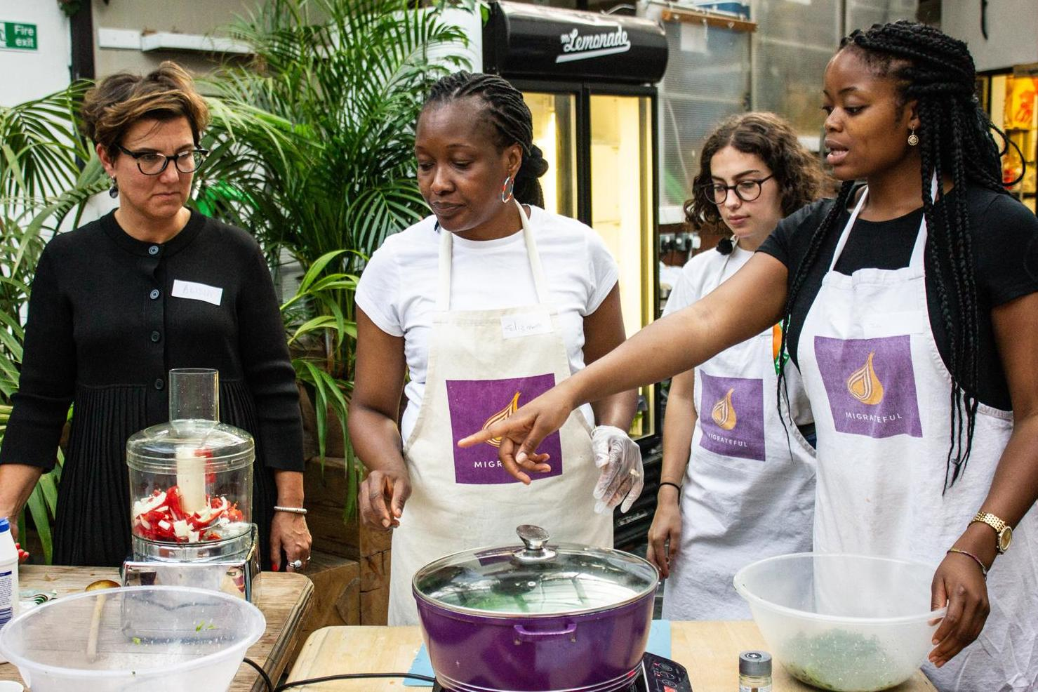 Inside Migrateful: The Refugee-led London Cooking Classes Giving Back photo