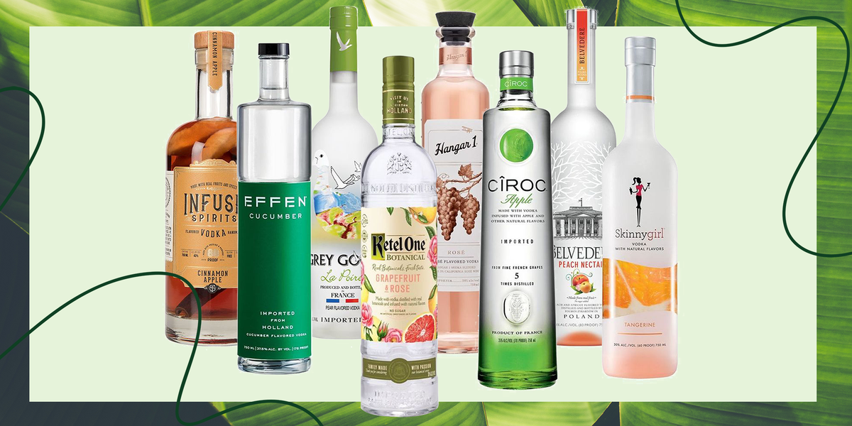 The Best Flavored Vodkas You Need To Add To Your Bar Cart Right Now photo