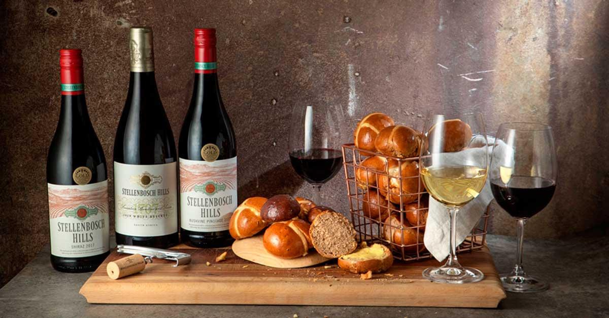 Stellenbosch Hills Brings You A Hot Cross Bun & Wine Pairing photo