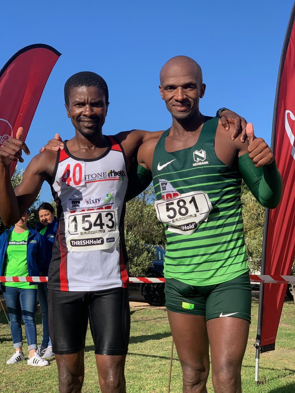 Jimmy Bonjesi Raced To His First Marathon Title With A Convincing Victory In The Inaugural Hemel En Aarde Marathon photo