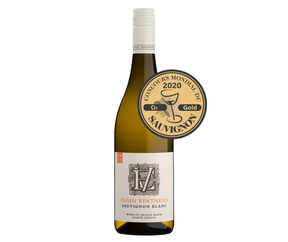 Elgin Vintners Sauvignon Blanc Brings Home a Global Gold photo