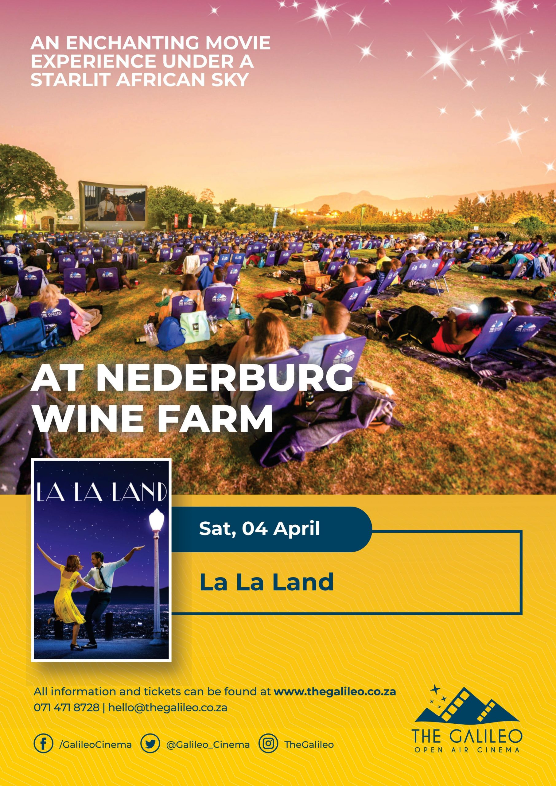 Cancellation Of La La Land Open Air Screening At Nederburg photo