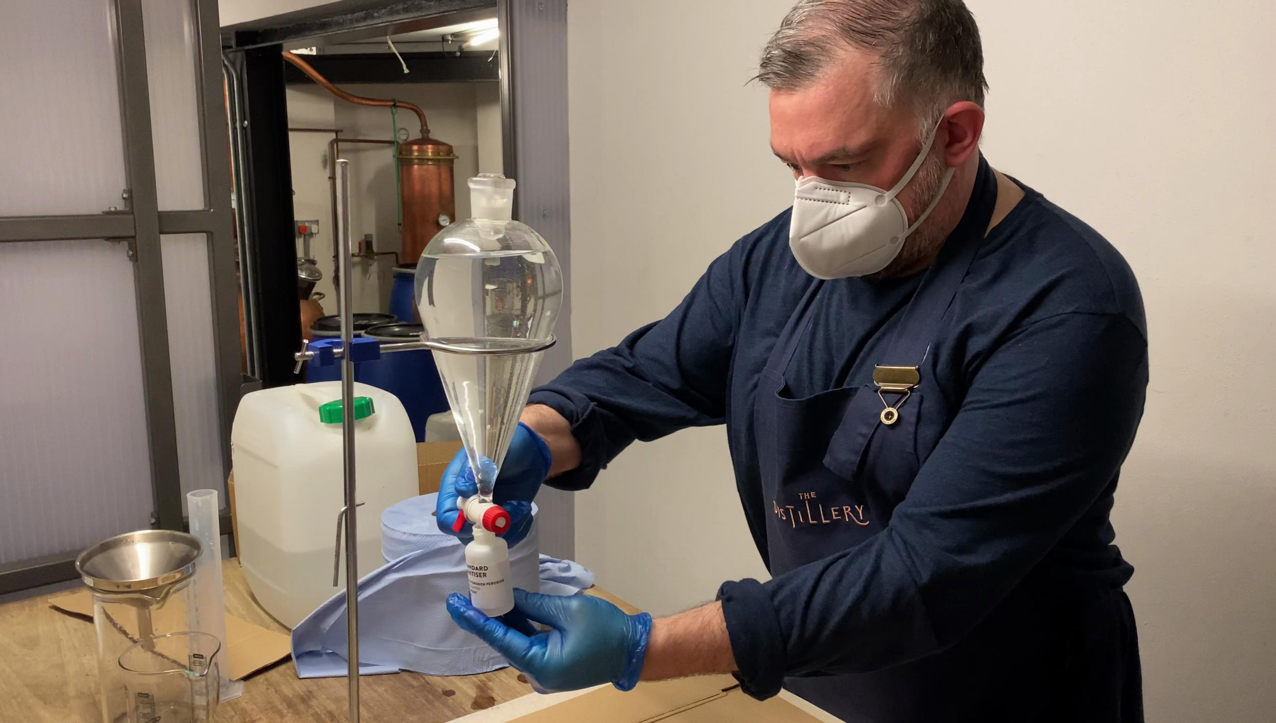 Gin Distilleries And Breweries Make Hand Sanitiser For Met Police photo