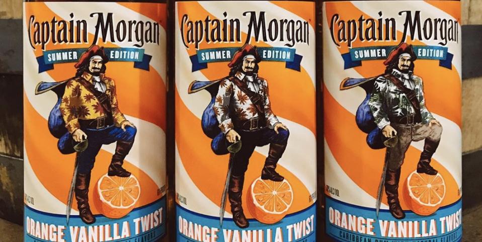 Captain Morgan's New Summer Flavor Tastes Just Like A Creamsicle photo