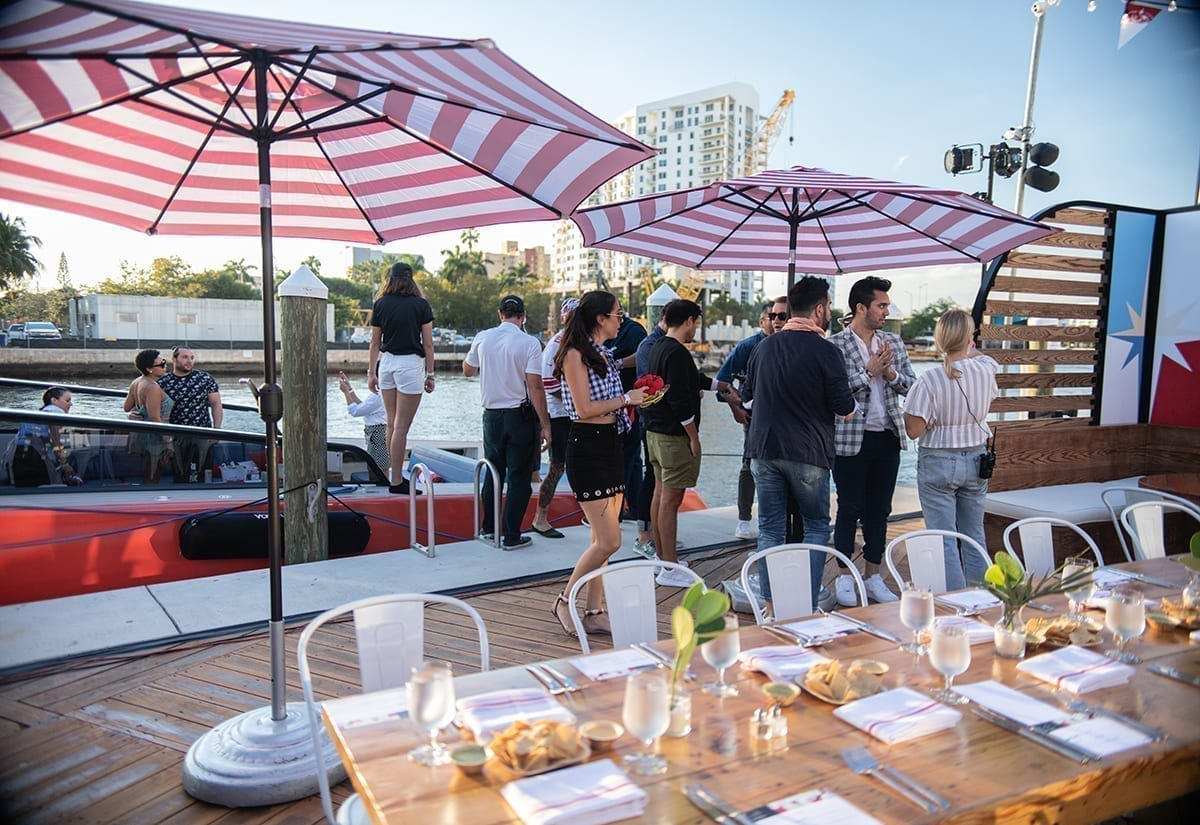 Stella Artois Docks In The Lifestyle Space With Port De Stella photo