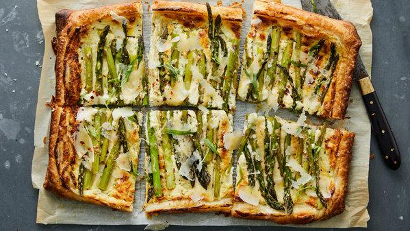 Feeling Fancy? Then Make This Asparagus And Goat Cheese Tart photo