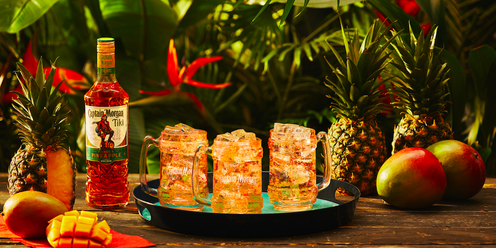 Captain Morgan Launches New Tiki Spiced Rum And It Sounds Like Summer In A Bottle photo
