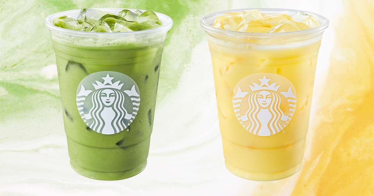 Starbucks Just Launched 3 All-new Drinks For Spring photo