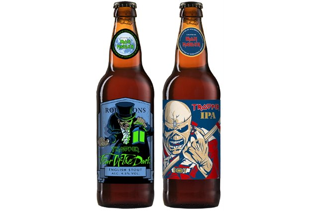 Iron Maiden Announces Two New Beers In Trooper Range photo