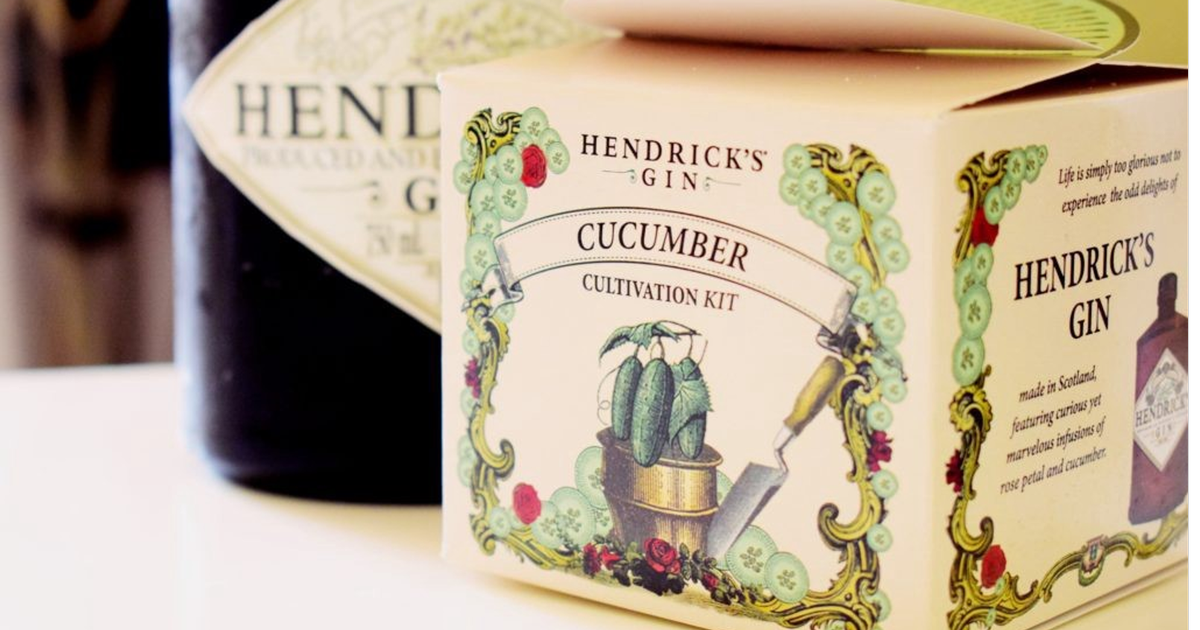 Hendrick's Gin Giving Away Cucumber Cultivation Kits photo