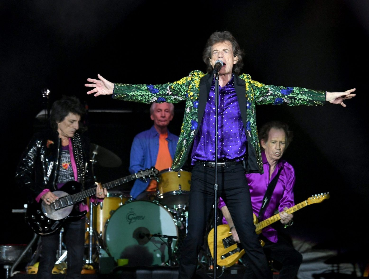 Rolling Stones Release New Track 'living In A Ghost Town' photo
