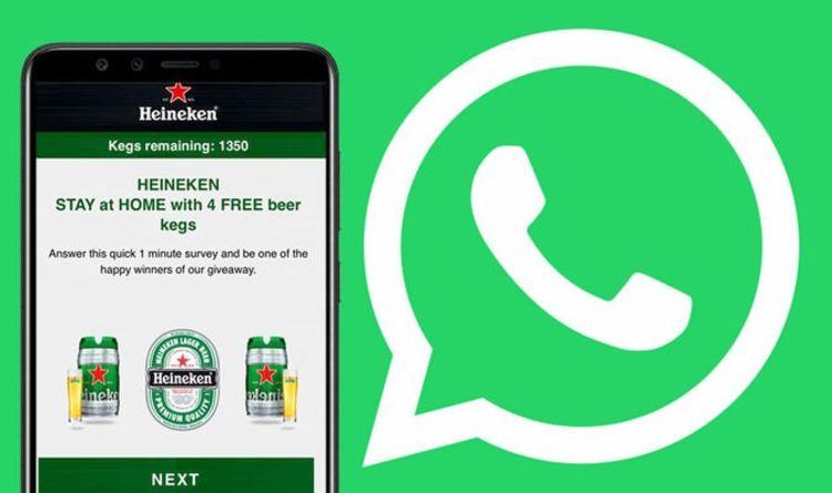 Whatsapp Heineken Scam Makes A Return: Do Not Trust This Free Beer 'offer' photo