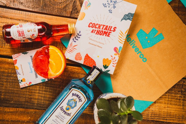 Bacardi Partners With Deliveroo Editions To Help Bars Deliver Cocktails To Consumers photo