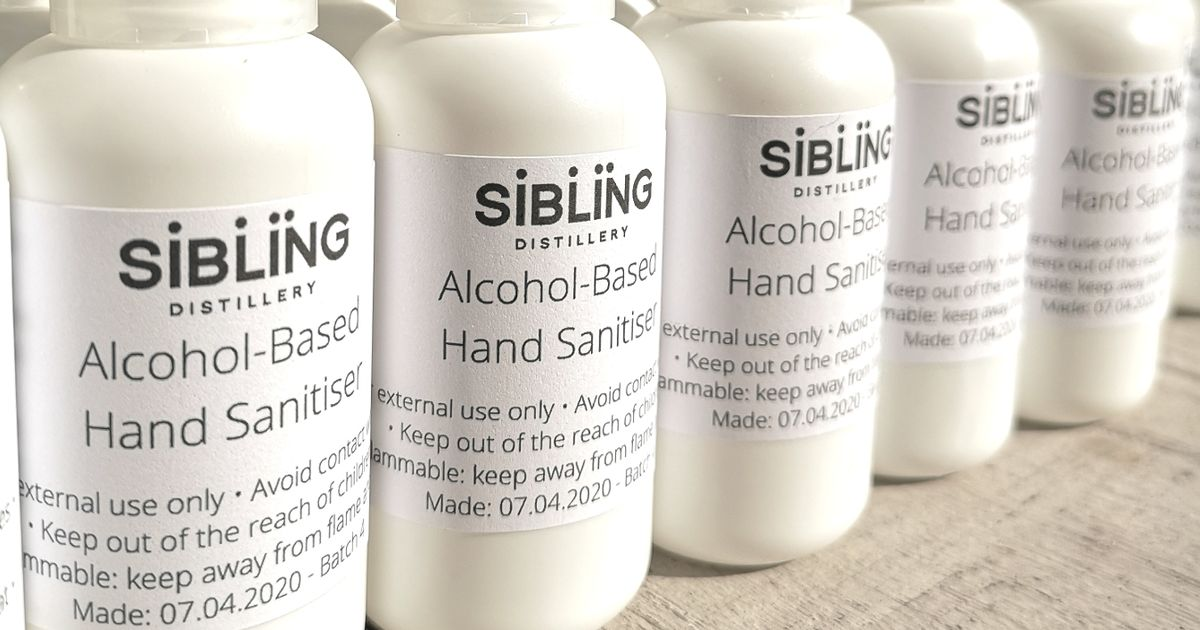 Sibling Gin Starts Making And Selling Its Own Hand Sanitiser photo