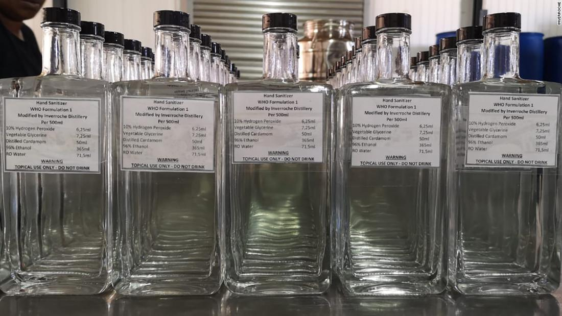 Alcohol Ban Has South African Distilleries Pivoting To A New Product photo