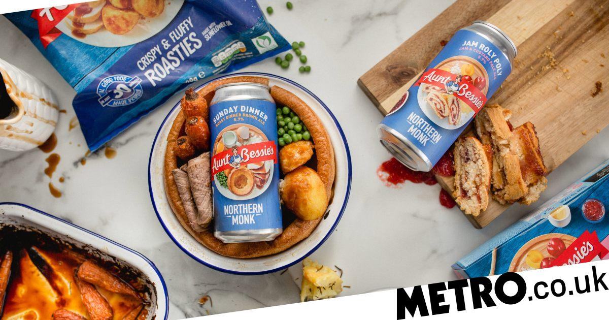 Aunt Bessie's Teams Up With Brewery To Launch Roast Dinner Flavour Beers photo