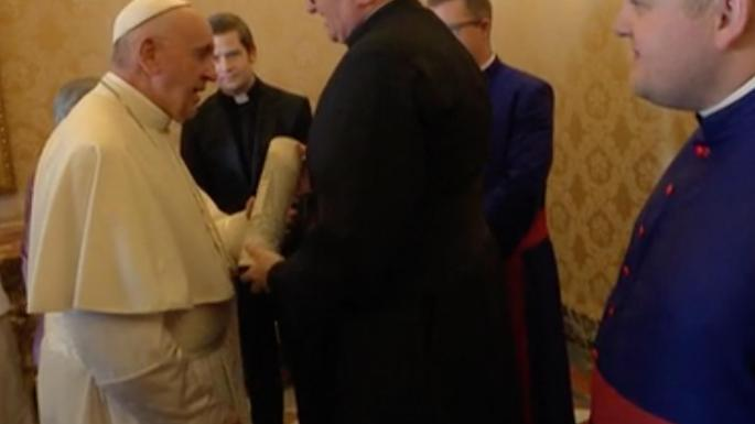 Whisky Is The Real Holy Water, Pope Joked To Trainee Priests photo