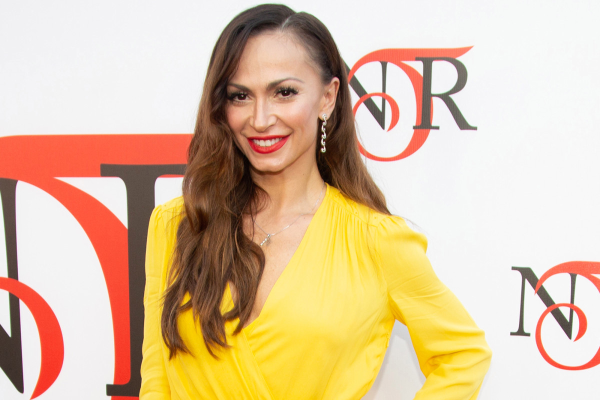 'dancing With The Stars' Alum Karina Smirnoff Gives Birth To First photo