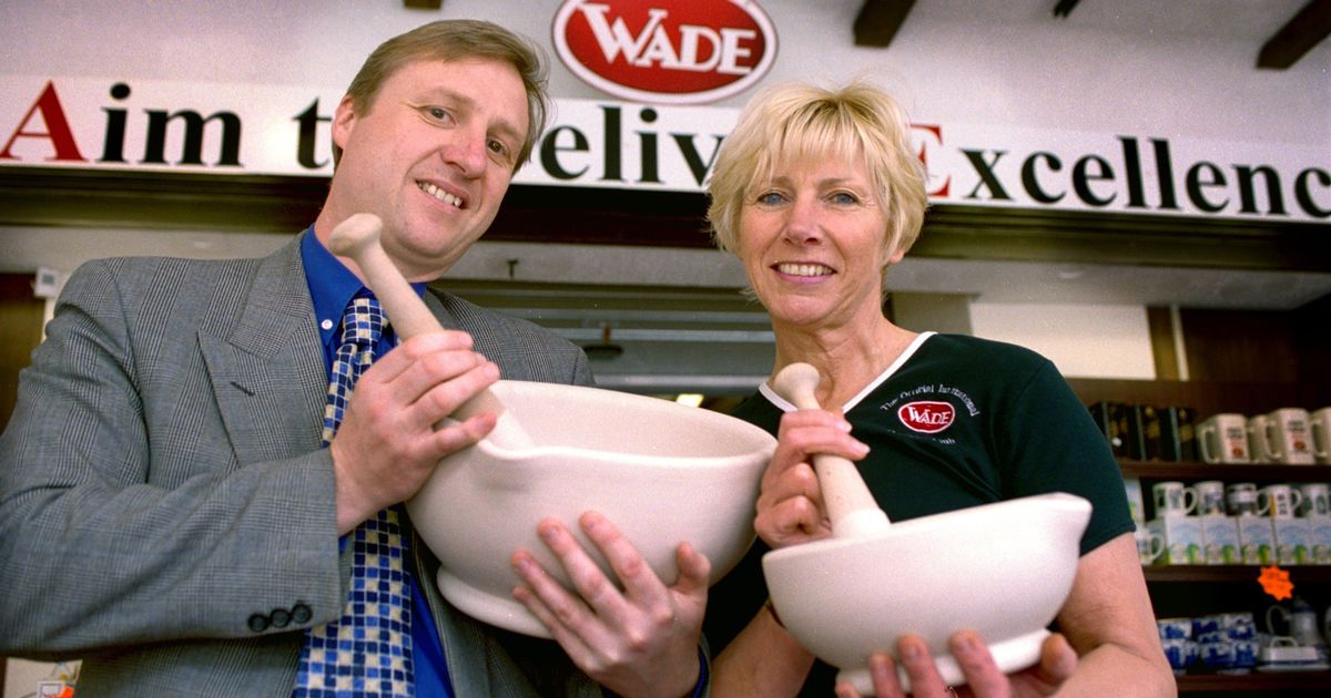 At Work: With Wade Ceramics. photo