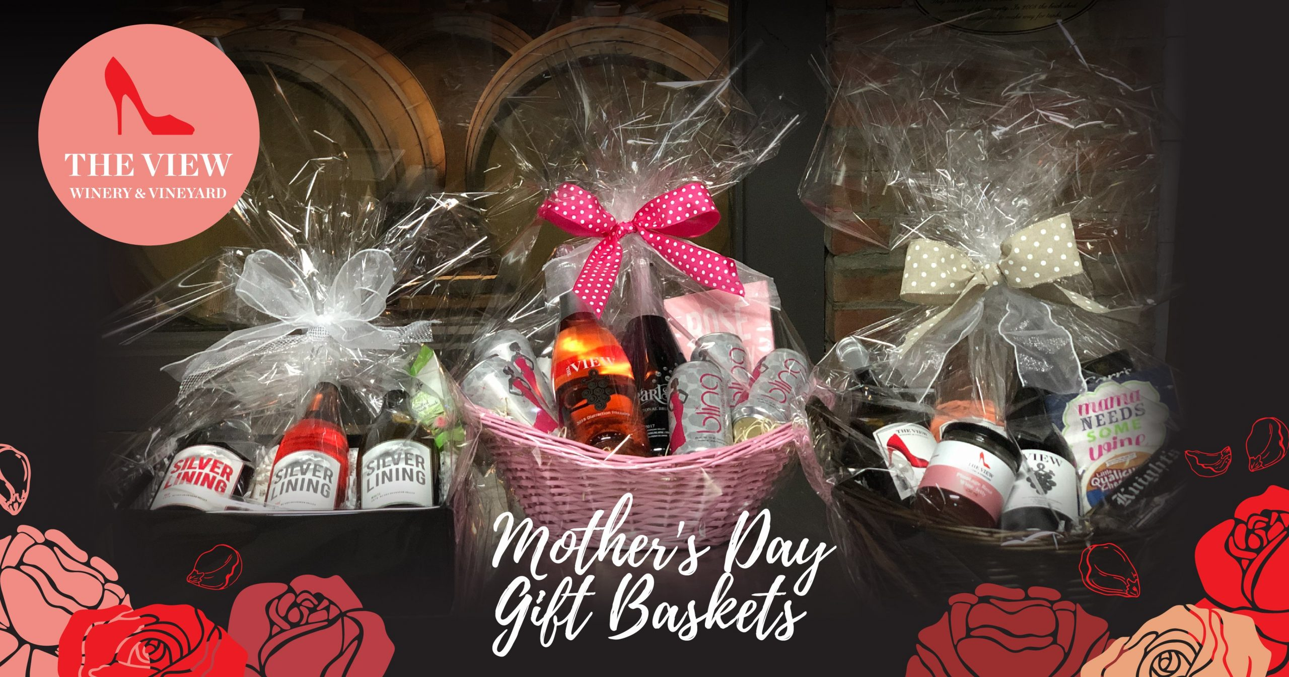 Which Of These 3 Wine-lovers Gift Baskets Would Your Mom Like Best On Mother's Day? photo