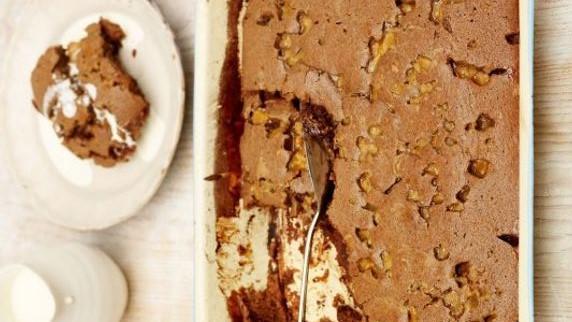 Watch: Make Jamie Oliver's Eggless Chocolate Cake photo