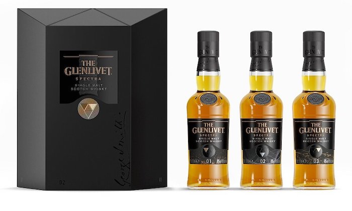 The Glenlivet Continues Mystery Whisky Series With New Spectra Set photo