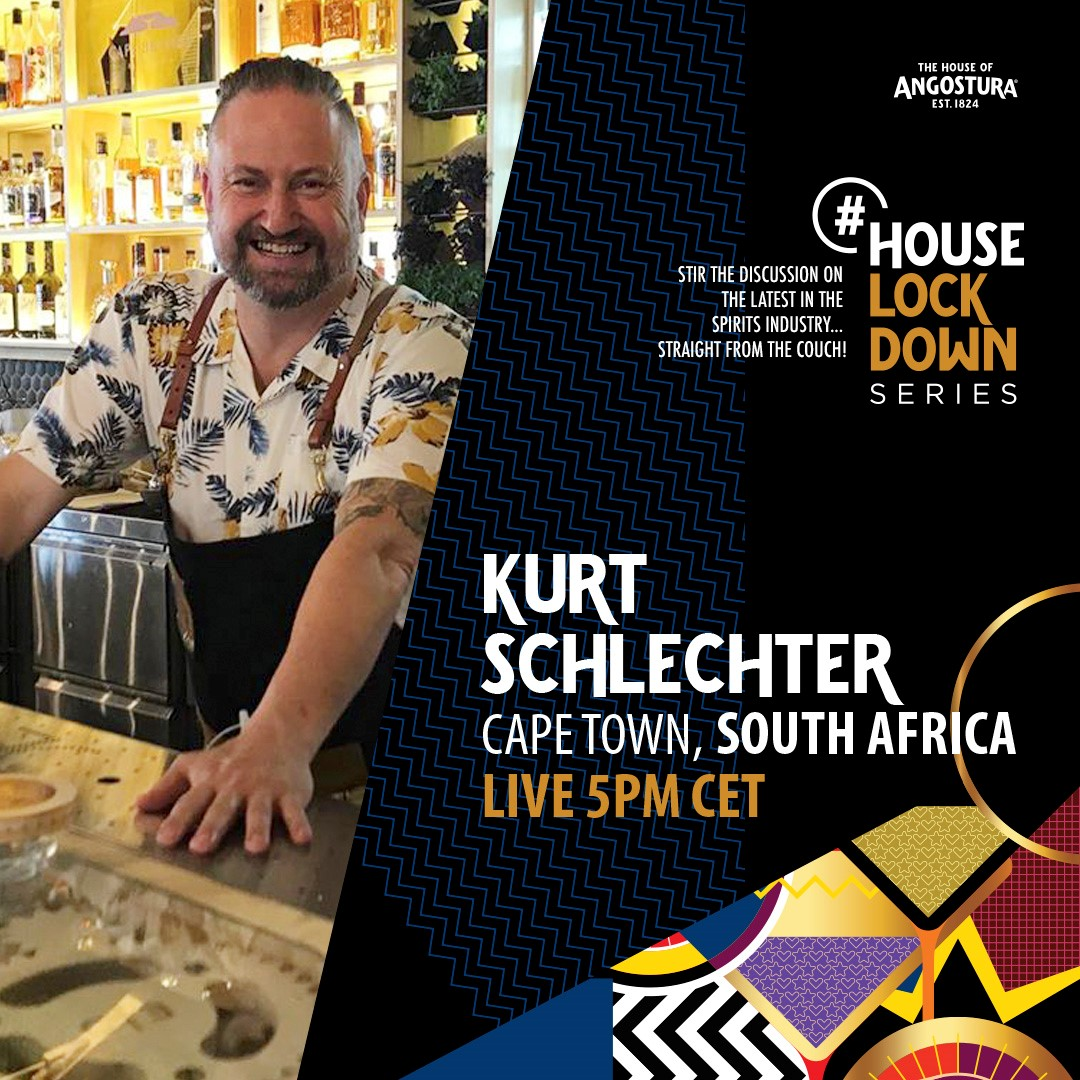 HouseLockDown IMAGE Kurt Schlechter FB Learn More About Mixing Great Drinks At Home In The #HouseLockDown Series