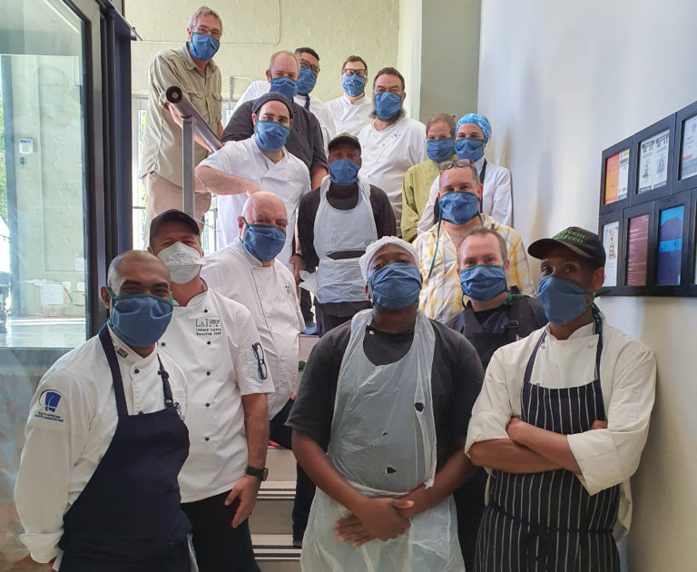 Cape Chefs Don Their Whites To Feed The Hungry During Lockdown photo