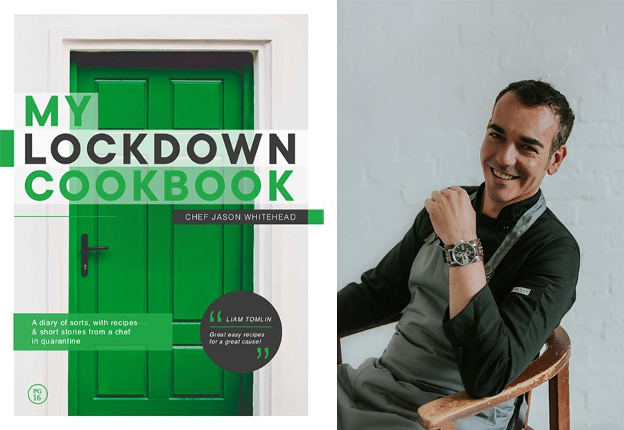 """Chef Jason Whitehead Launches """"my Lockdown Cookbook"""" In Aid Of Ngo, Streetscapes photo"""